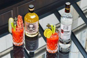 Cocktails in de Van Diepeningen Lounge Huis ter Duin Noordwijk